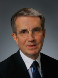 Robert Crowell, retired partner at Kaempfer Crowell Law Firm